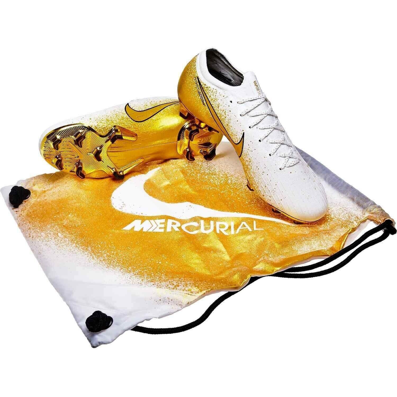 Nike Mercurial Vapor 12 Elite SE FG Limited 2000 oro blancoo CI0907-170 Hombre Talla