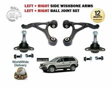 FOR VOLVO XC90 2.4TD 2.5 2.9 3.2 2x FRONT LEFT + RIGHT WISHBONE ARM & BALL JOINT