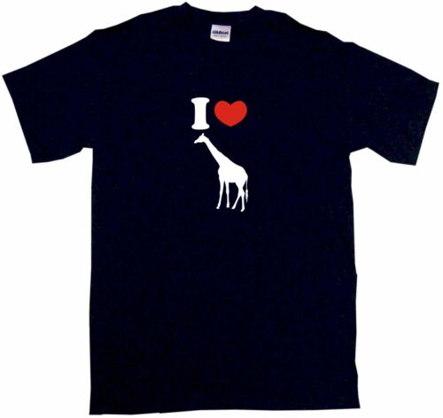 I Heart Love Giraffe Logo Kids Tee Shirt Pick Size /& Color 2T XL