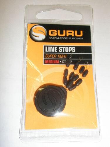 Guru 2 x 12pk Super Tight Line Stops ALL VARIETIES Fishing tackle