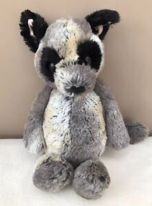 Jellycat-Medium-Bashful-Bush-Baby-Lemur-Comforter-Soft-Toy-Retired-Rare-Grey