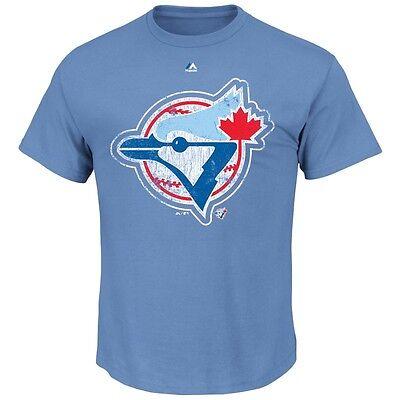 Fanartikel Vereinigt Mlb Baseball Toronto Blue Jays League Supreme Cooperstown T-shirt Majestic