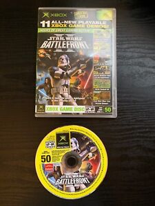 Offical-Xbox-Game-Disc-50-Star-Wars-Battlefront-2-Original-Xbox-Demo-Disc