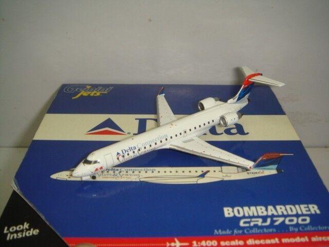 Gemini Jets 400 Delta Connection CRJ-700  2000s Deltaflot Deltaflot Deltaflot Coloreeeee  1 400 ef5d05