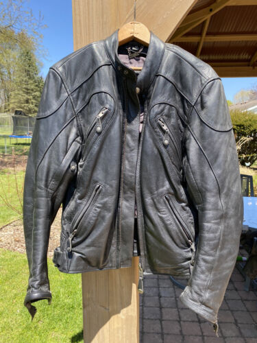 Womens's Leather Motorcycle Jacket