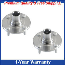 Pair:2 New Front Wheel Hub Driver and Passenger for Toyota Corolla Prizm
