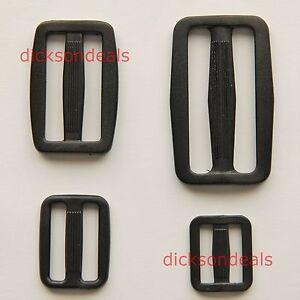 Plastic-Delrin-3-Bar-Slides-Tri-Glide-Buckles-for-Webbing-20mm-25mm-40mm-50mm