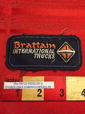 Vtg BRATTAIN INTERNATIONAL TRUCKS  TRUCKING PATCH TRUCKER PORTLAND OREGON C61I
