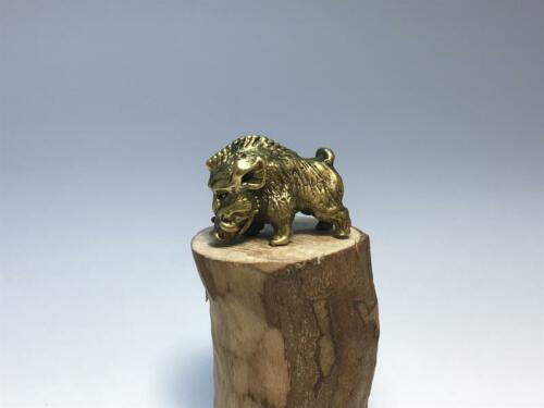 Figurine brass wild boar,rare,very detailed item,collectable