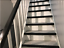 miniatura 4 - Treppenkantenprofil PVC Selbstklebend 50x40mm Kantenschutz 70-200cm Treppenkante