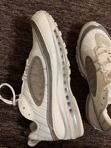 8817e148bc0 Nike Air Max 98 SE SNAKESKIN OFF WHITE GREY SEPIA STONE AO9380-100 ...