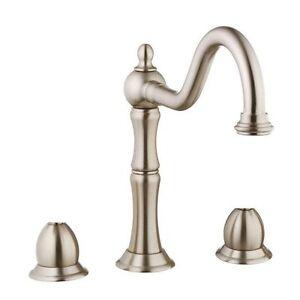 Image Is Loading Belle Foret F86jz000bnv Bfgkf01ss 2 Handle Kitchen Faucet