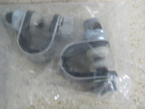 "NOS Universal 4/"" Round Mirror With 8/"" Stem Fits 3//4/"" 7//8/"" 1/"" Handlebars 303"