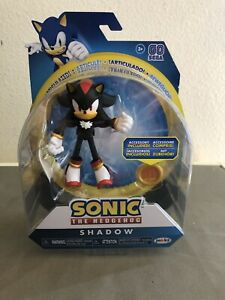 New Sonic The Hedgehog Shadow Series 4 Articulated Figure Jakks Pacific 192995403871 Ebay