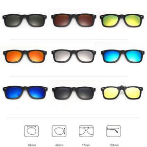 ef834e98ca Women Men Polarized UV400 Lens Flip-up Clip-on Myopia Sunglasses ...