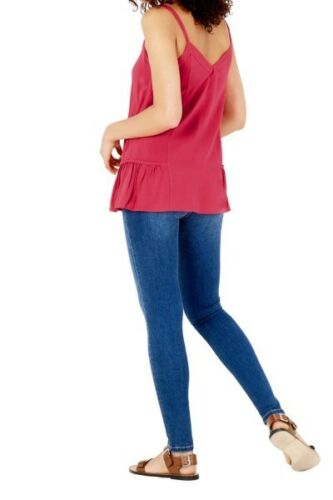 WAREHOUSE Pink Cami Top Size 8 RRP £19