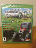 Professional Farmer 2017 Video Game For Micosoft Xbox One System New/sealed