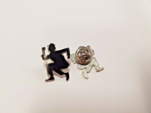 SKA OI! Scooters Nutty Boy Dance Cut Out Enamel Pin Badge Mods