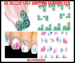 New-Design-Nail-Art-Stickers-Decals-Tips-Designs-3D-Vinyl-Manicure-Decoration