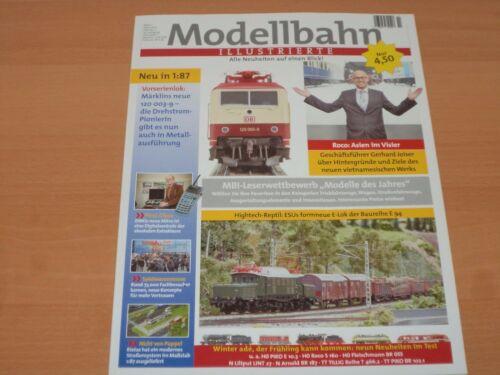 Modellbahn ILLUSTRIERTE Alle Neuheiten auf einen Blick! Ausgabe April 2017