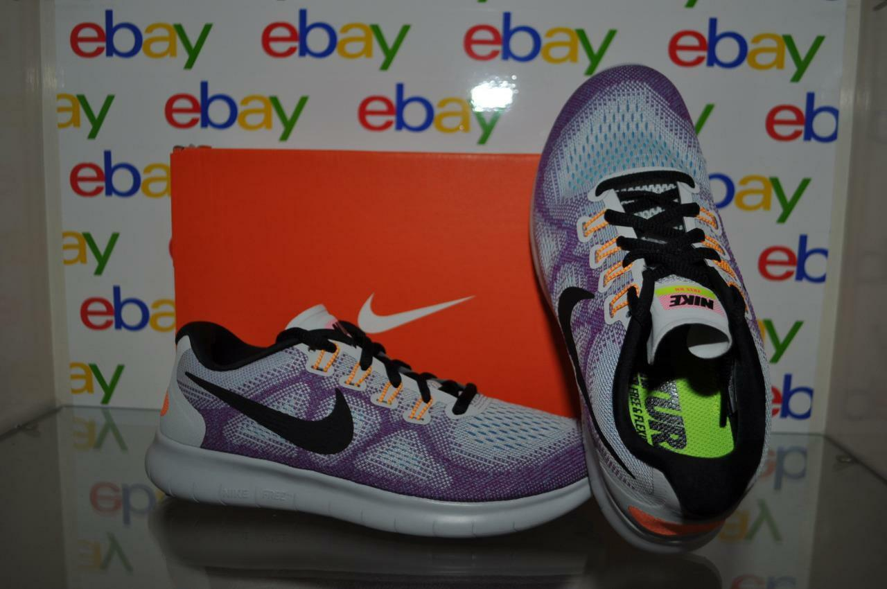 Nike Women's Free RN 2017 Running shoes Hot Punch 880840 102 See Sizes NIB