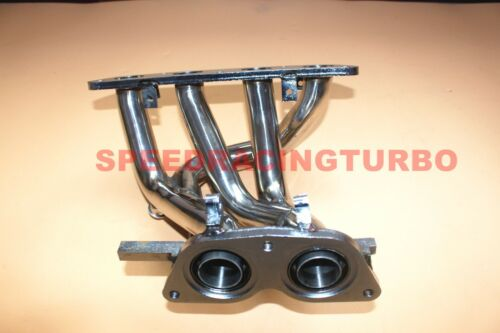 EXHAUST HEADER MANIFOLD FOR MR2 SPYDER MRS ZZW30 1ZZ-FED 00-05 STAINLESS RACING