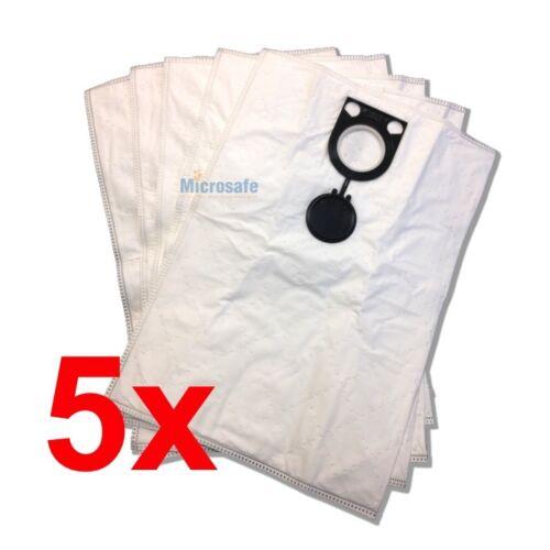 5 Microflies Staubsaugerbeutel für Starmix AS 1232 PG+