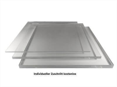 Acrylglas Zuschnitt Plexiglas Zuschnitt 2-8mm Platte//Scheibe klar//transparent 4 mm, 600 x 300 mm