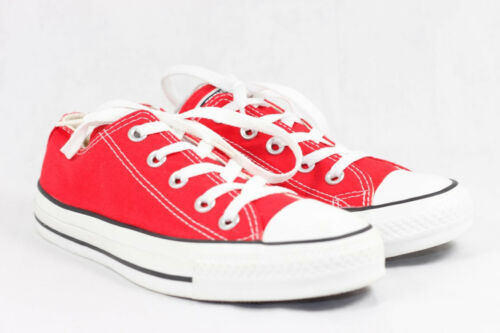Taylor Chuck M147136f Star Converse Oxford Dark Unisex All Red Low eu39 Uk6 Top 4w5nwpIx