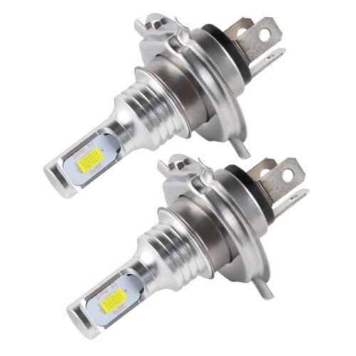 For Suzuki Burgman 400 AN400A AN400S H4 9003 100W CSP LED Headlight White Bulbs