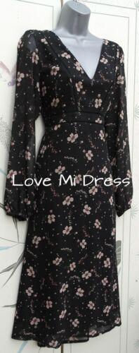 Gorgeous 70/'s Style Summer Dress Sz 12 EU40