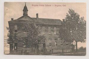 Lanark-County-BRIGDEN-ONTARIO-Brigden-Public-School-Cicra-1907