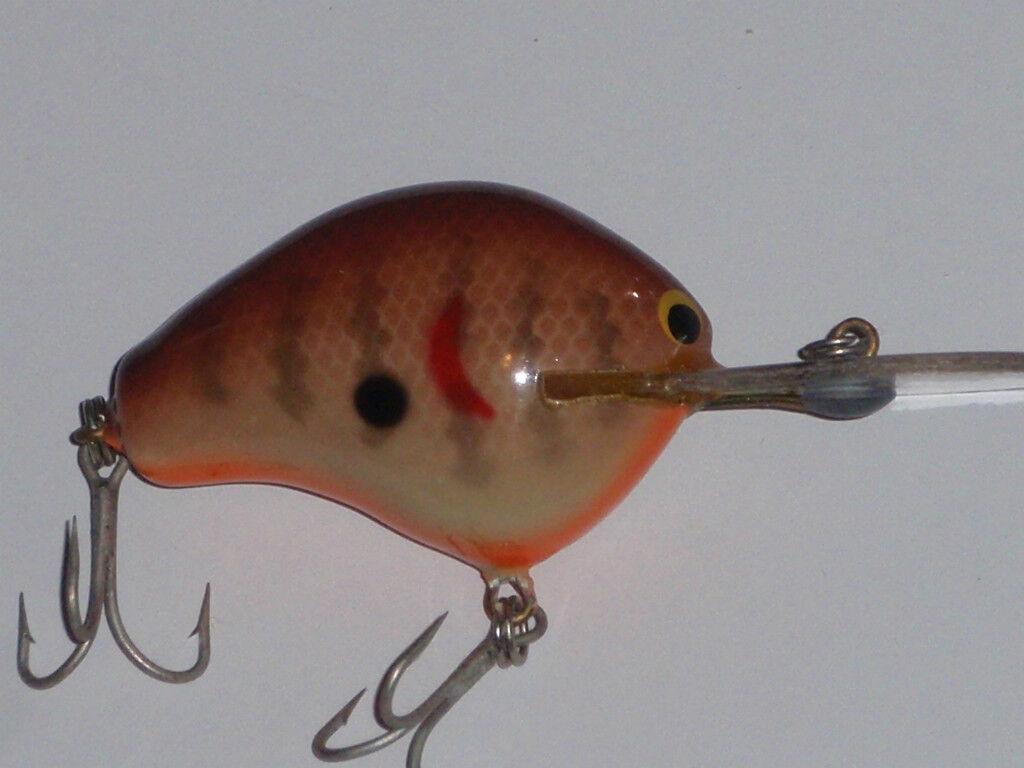 Bagley Tauchen B 1 Alle Messing Vintage Fischköder Wobbler Dc