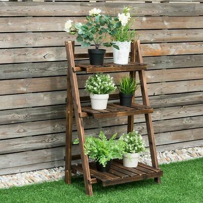 Design Flower Pot Shelf Stand Folding