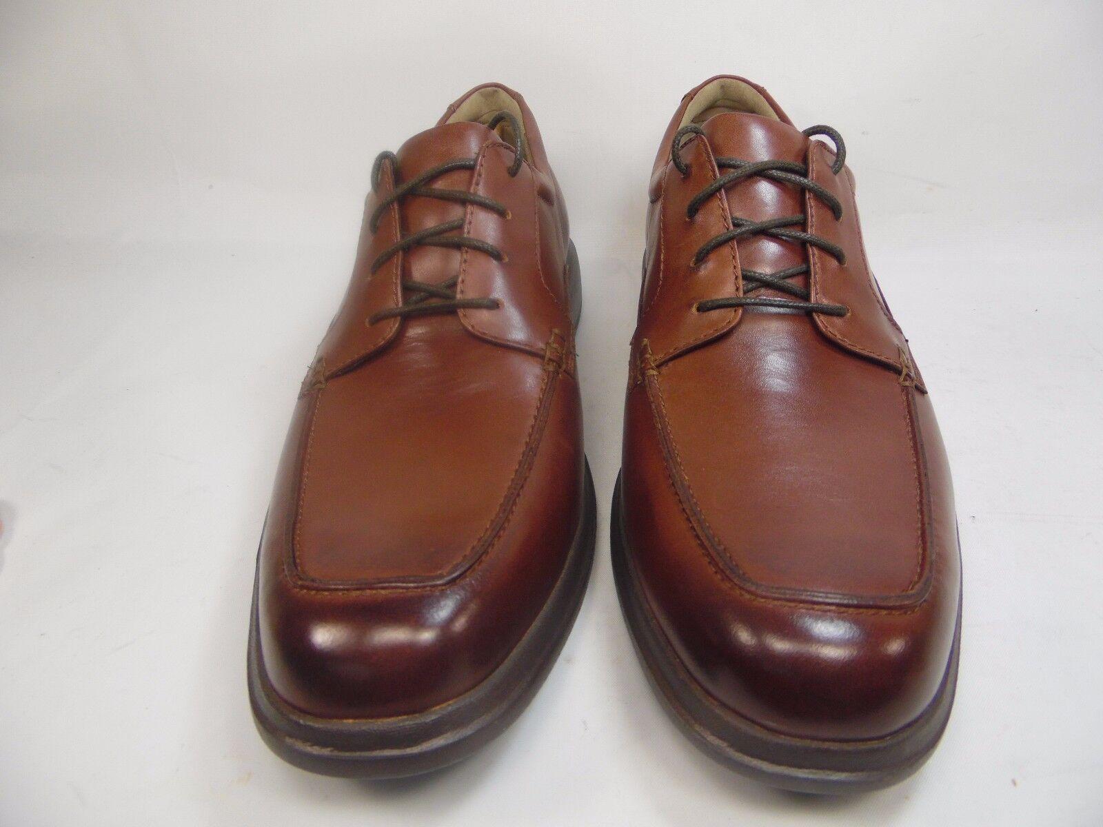 Bostonian Men's Tifton Edge Oxford Brown Leather Size 9M