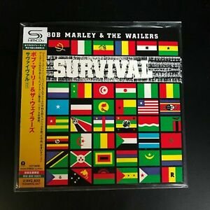 BOB-MARLEY-amp-THE-WAILERS-SURVIVAL-LTD-ED-NUMB-SHM-CD-JAPAN-2010-UICY-94596