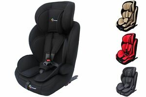 auto kindersitz isofix 9 36kg gruppe 1 2 3 ece autositz polster farben clamaro ebay. Black Bedroom Furniture Sets. Home Design Ideas