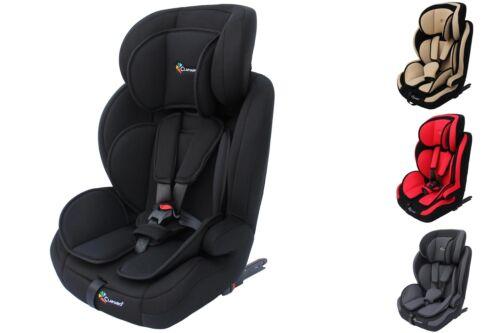 Autokindersitz mit ISOFIX von 9 bis 36 Kg Gruppe 1+2+3 Sitze Clamaro ECE R44/04