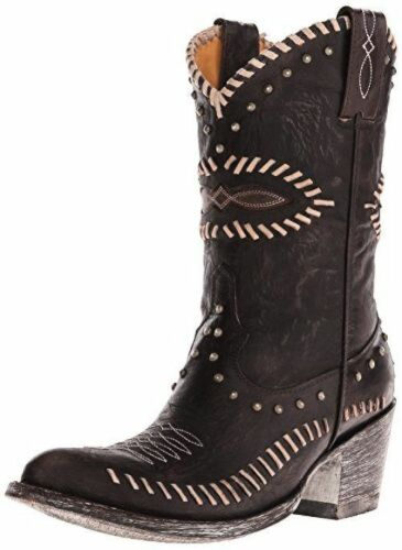 New in Box Old Gringo Womens FORYO Western Boots Chocolate Brown MSRP $ 530