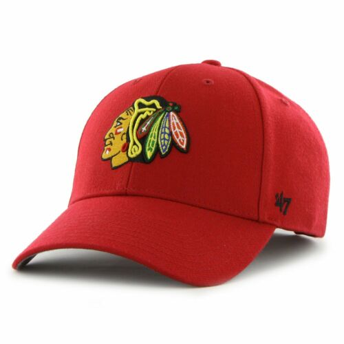 MVP Chicago Blackhawks rot 47 Brand Adjustable Cap