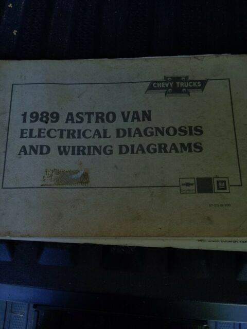 1989 Chevy Truck Astro Van Wiring Diagrams