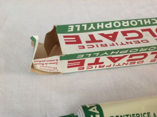 RARE VINTAGE COLGATE TOOTHPASTE 1950s BOXED