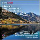 Brahms Piano Concertos No.1 2 Garrick Ohlsson Audio CD