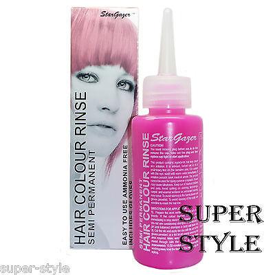 Stargazer Semi-Permanent Hair Dye BABY PINK  Tint Colour Toner