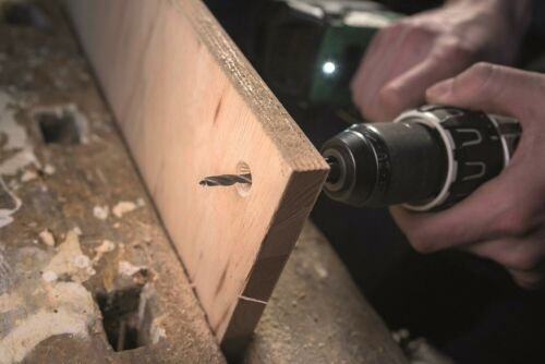200//250 mm Holzbohrer 233576 Heller 0333 CV Holzspiralbohrer Ø 12 mm Länge