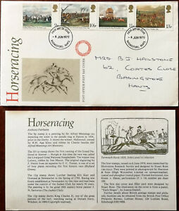 Horseracing-Post-Office-First-Day-Cover-1979-Insert