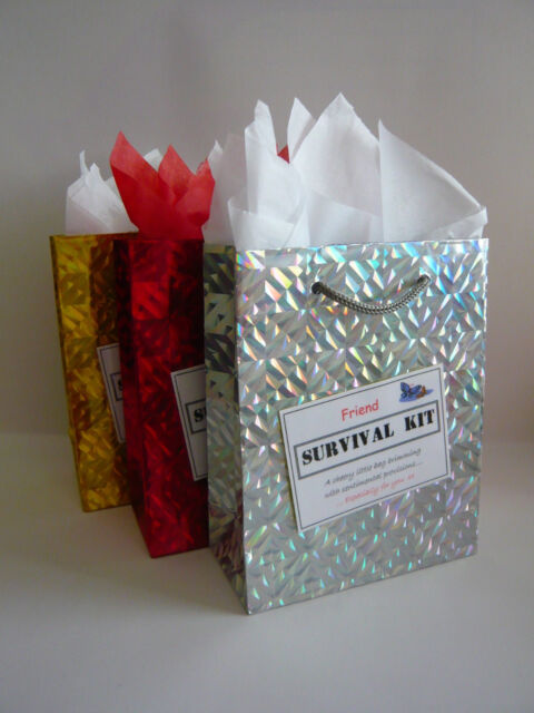 Friend Survival Kit Novelty Gift Idea Fun Birthday Christmas Thank