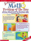 5-Minute Math Problem of the Day: 250 Multi-Step Word Problems by Marcia Miller, Martin Lee (Paperback / softback)