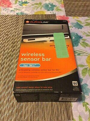 Alphaline Wireless Sensor Bar For Wii