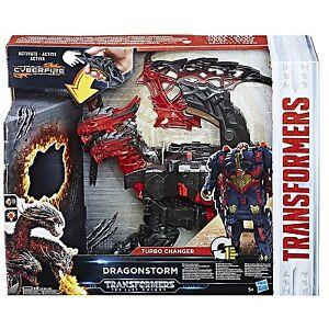 Transformers The Last Night Dragonstorm Mega 1-Step Turbo Changer